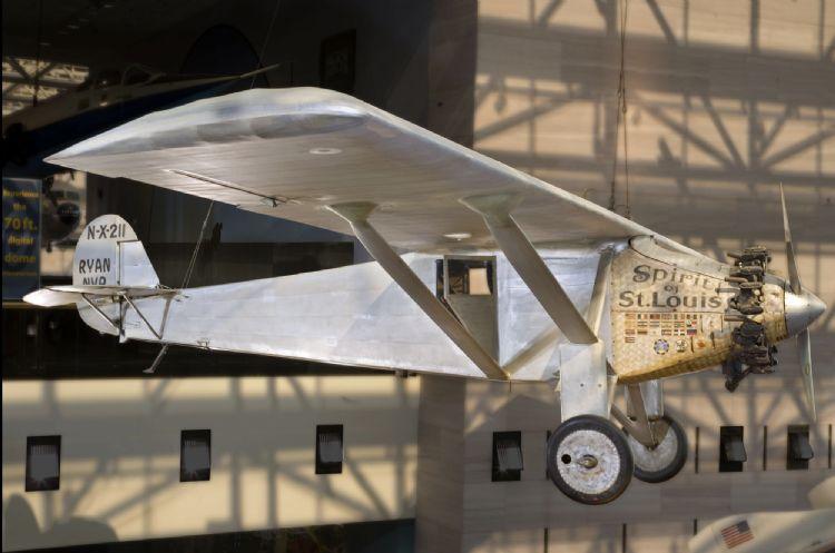 Spirit of St. Louis au musée de l'Air et de l'Espace à Washington