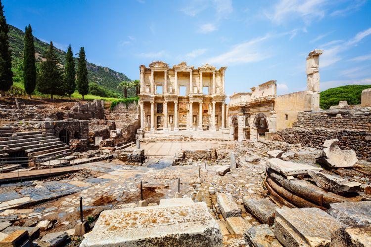 Librairie Celsus à Ephèse
