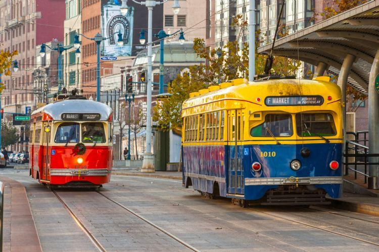 Tramways historiques de San Francisco