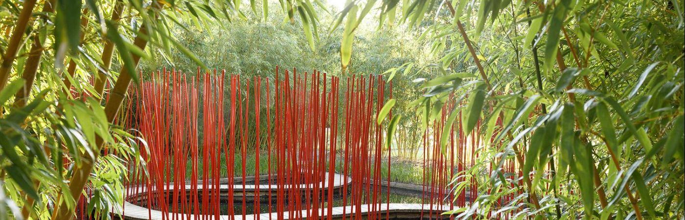 Jardin chinois du domaine de Chaumont-sur-Loire
